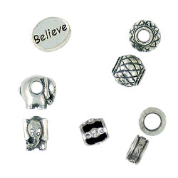 yk custom and logo jewelry made beads spacer tags charms pendants bead portfolio