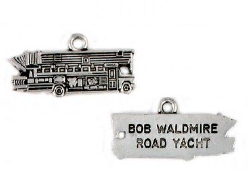 Bob Waldmire Road Yacht charm