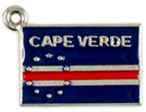 Cape Verde Flag Custom Charm