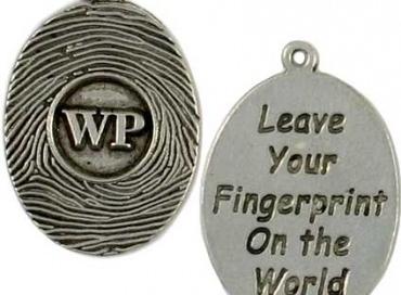 Custom fingerprint message charm