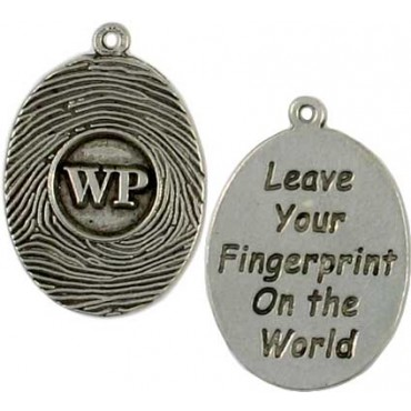 Custom fingerprint message charm