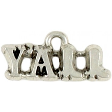 Y'all charms custom made in USA